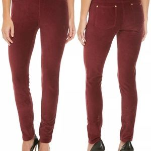 Michael Kors corduroy skinny leggings Size XS